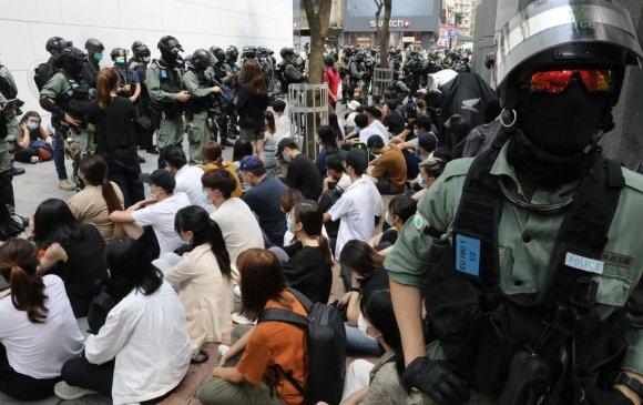 Хонгконг: Баривчлагдсан хүмүүсийн 100 орчим нь хүүхдүүд байна