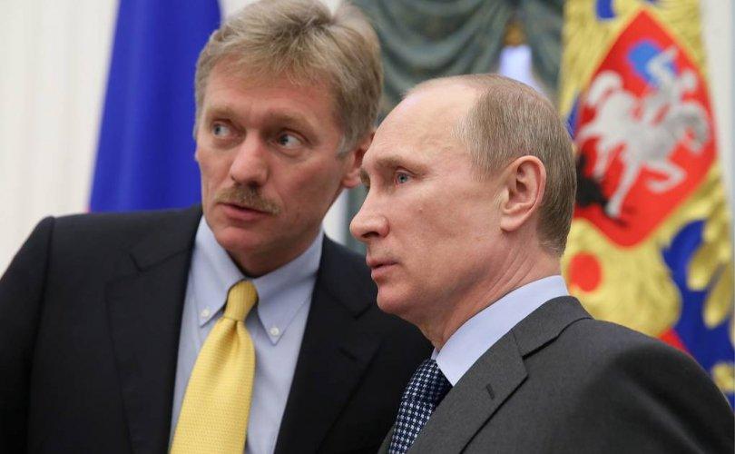 Путины хэвлэлийн төлөөлөгч коронавирусийн халдвар авчээ
