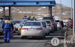 Нийт 3486 зорчигч хот руу нэвтэрсэн бол 4000 гаруй зорчигч хотоос гарчээ