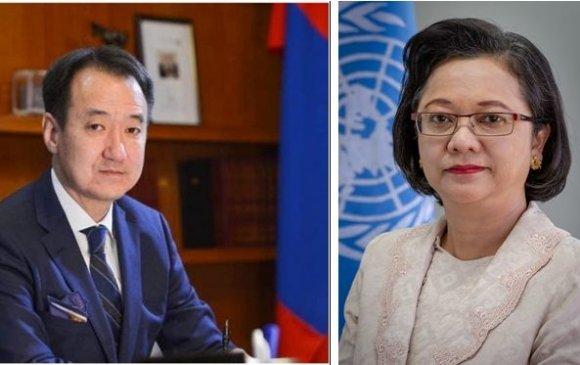 Сайд Д.Цогтбаатар НҮБ-ын комиссын хуралдааныг даргална