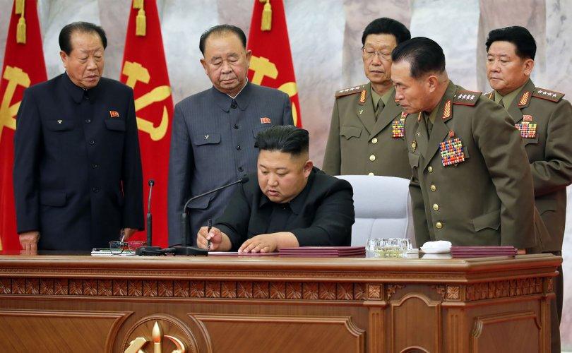 Ким Жон Ун өндөржүүлсэн бэлэн байдал зарлалаа