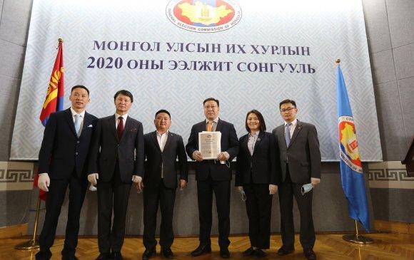 """Шинэ Монгол Улсыг бүтээхийн төлөөх сонгууль байх болно"""