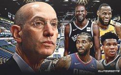 NBA: Адам Сильвер 2-4 долоо хоногийн хугацаанд шийдвэр гаргана