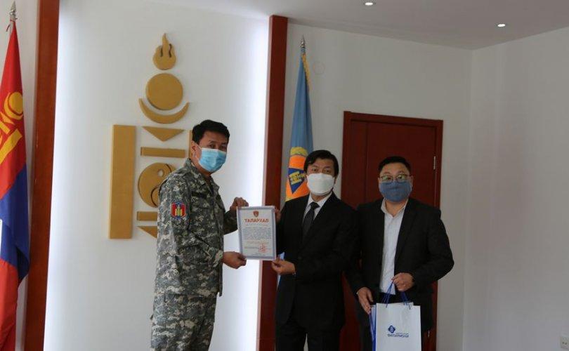 Монгол Улсын Филармонийн хамт олон 5 092 525 төгрөгийг хандивлав