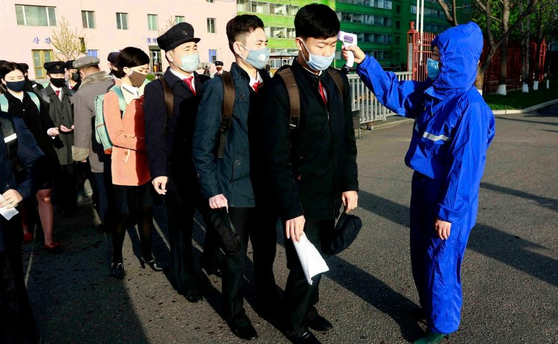Хойд Солонгостой залгаа Хятадын хотод хөл хорио тогтоов