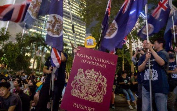 Британи: Тусгай паспорттой хонгконгчууд иргэний харьяалал хүсэх эрхтэй болно