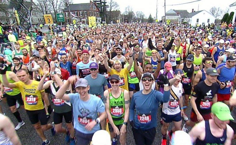 124 жилийн түүхтэй Бостон марафон цуцлагдлаа