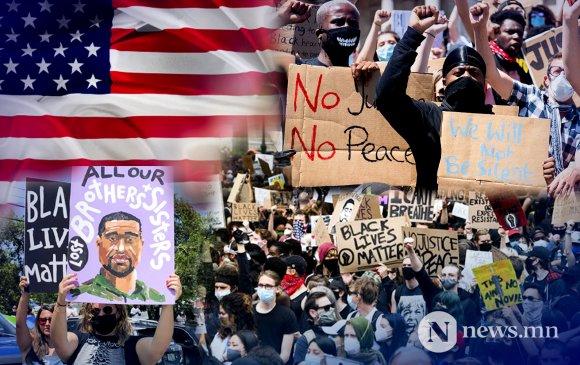 АНУ-д эсэргүүцлийн хөдөлгөөн найм дахь өдрөө үргэлжилж байна