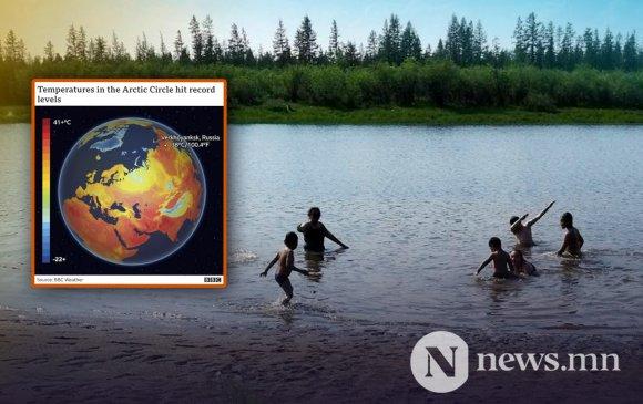 Арктикийн бүст түүхэндээ байгаагүйгээр халжээ