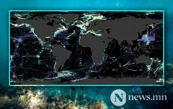 Далайн ёроолын тавны нэг нь газрын зурагтай боллоо
