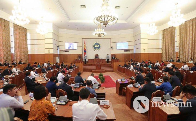 Чуулган: Засгийн газрын бүтцийг баталлаа