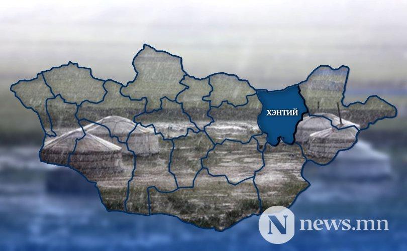 Хэнтий аймагт үер бууж 99 айлын гэр, хашаа усанд автжээ