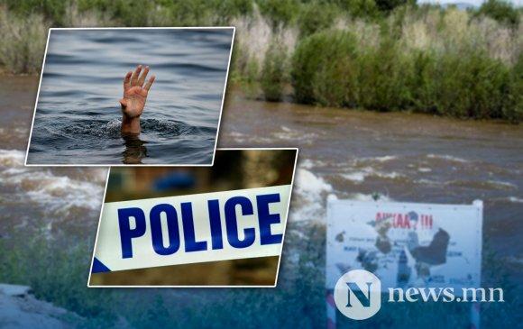 Цагдаа Н.Баттөр үерт урсаж байсан 11 настай хүүг аварчээ