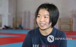 """""""Монголын анхны эмэгтэй олимпийн аварга болохыг хүсдэг"""""""