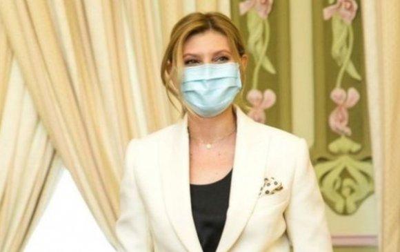 Украины тэргүүн хатагтай коронавирусийн халдвар авчээ