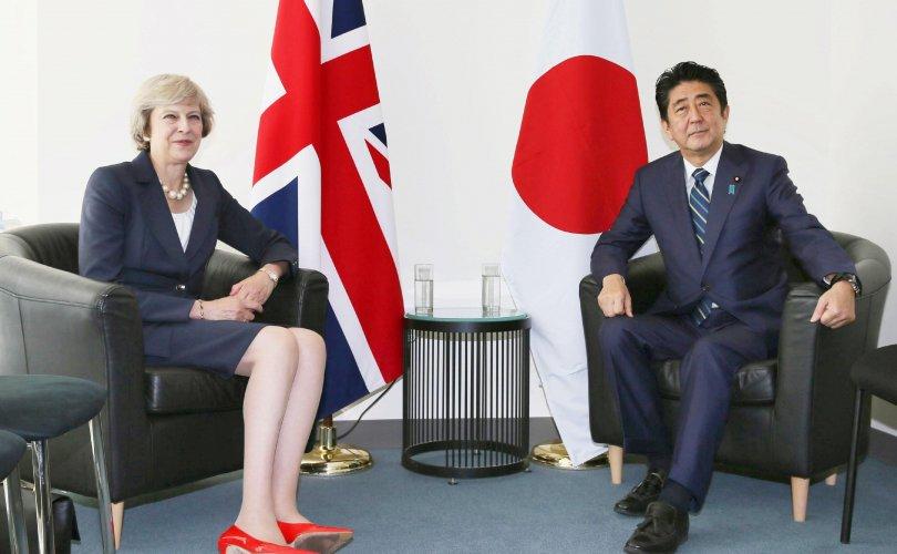 Их Британи Японтой чөлөөт худалдааны гэрээ байгуулна