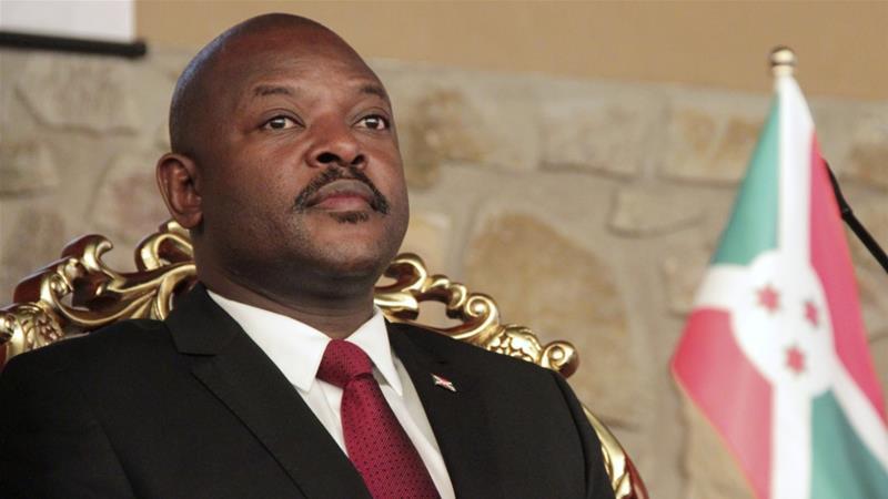 Бурунди улсын Ерөнхийлөгч COVID-19 өвчнөөр нас баржээ