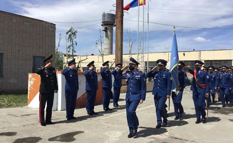 ОБЕГ-ын дарга, хошууч генерал Т.Бадрал Багануур, Налайх дүүрэгт ажиллав