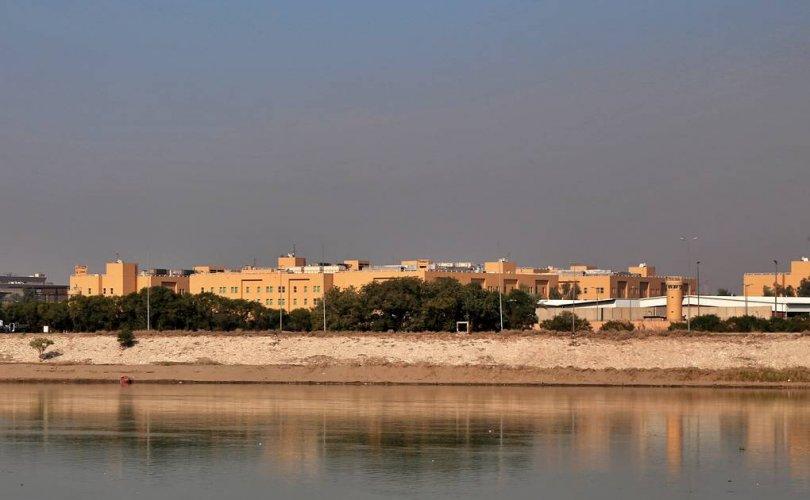 Багдад дахь АНУ-ын ЭСЯ-ны ойролцоо пуужин унажээ