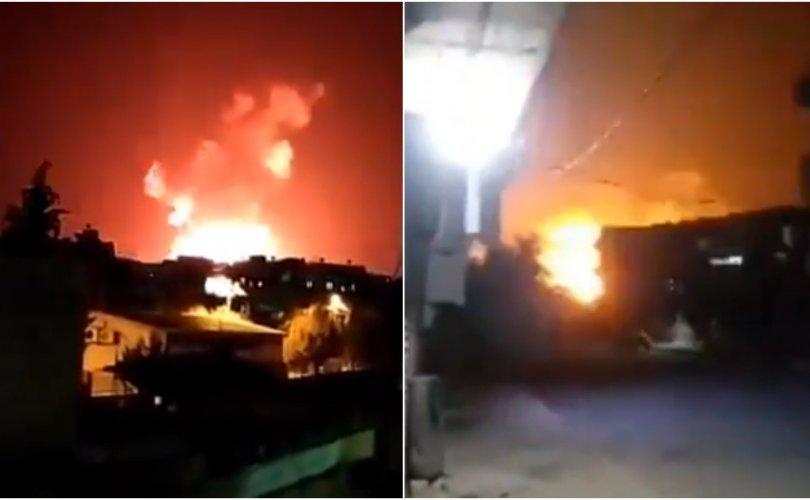 Израилийн онгоцууд дайрсны дараа Сирид том дэлбэрэлт болжээ