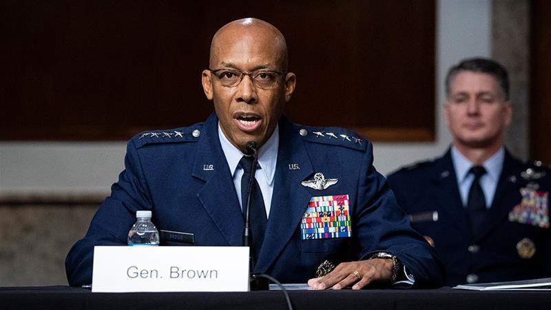 Хар арьст генералыг АНУ-ын нисэх хүчний даргаар томилов
