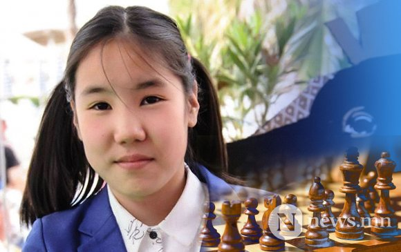 Монгол охин Дэлхийн шатрын холбооны мастер болжээ