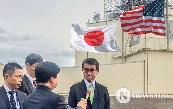 Япон АНУ-ын пуужингийн системийг авахаас татгалзлаа