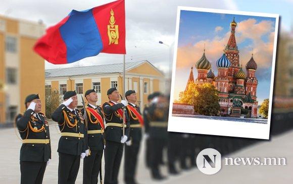 Парадад оролцох монгол цэргүүд Москвад бэлтгэлээ эхлүүллээ