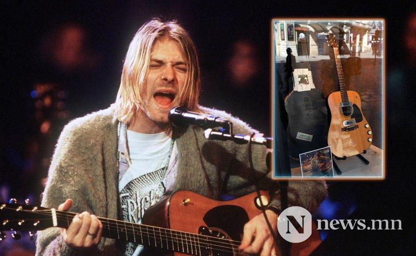 Курт Кобэйний гитар 6 сая доллараар зарагдав