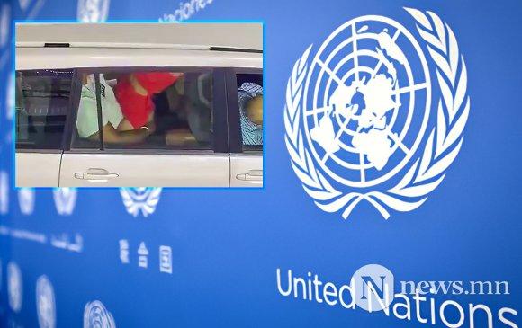НҮБ-ын хоёр ажилтан албаны машиндаа секс хийсэн бичлэгийг дэлгэжээ