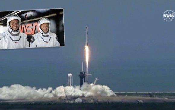 АНУ сансрын нисэгчдээ өөрийн хөлгөөр тойрог замд хүргэлээ