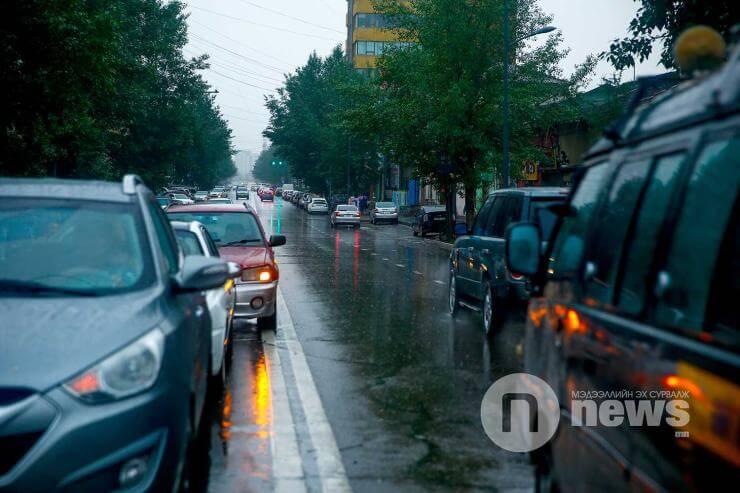Улаанбаатарт бороотой, 19-21 градус дулаан байна