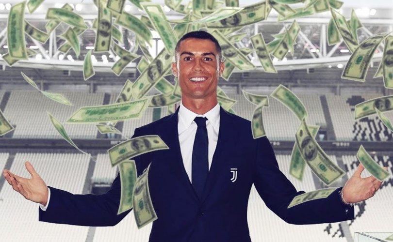Кристиано Роналдо албан ёсоор тэрбумтан боллоо