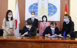 Монгол Улс, Япон улсын ЗГ хооронд солилцох ноот бичгүүдэд гарын үсэг зурав