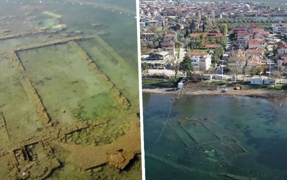 Хөл хорионы ачаар 1600 жил усан доор оршсон эртний сүм ил гарчээ