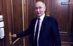 """Путин сэтгүүлчдэд анх удаа """"нууц өрөө""""-гөө үзүүлжээ"""