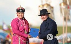 Жанжин Д.Сүхбаатараас хойш төрсөн анхны Монгол Улсын мэргэн