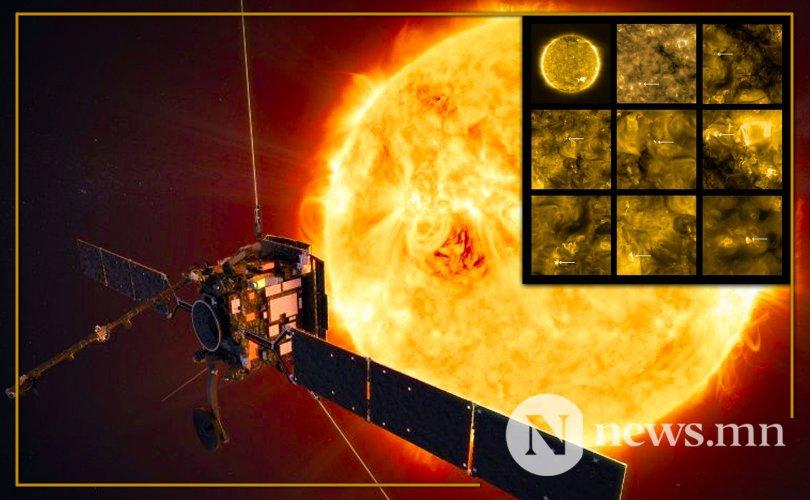 Хамгийн ойроос авсан нарны зургийг нийтэд үзүүлжээ