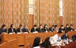Чуулган: Засгийн газрын сайд нар тангараг өргөлөө