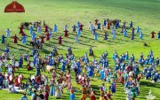 ФОТО: Үндэсний их баяр Наадмын нээлт