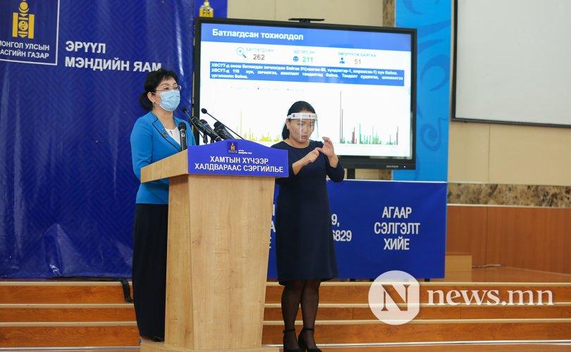 ЭМЯ: Нэг хүнээс коронавирус илэрч, хоёр хүн эдгэлээ