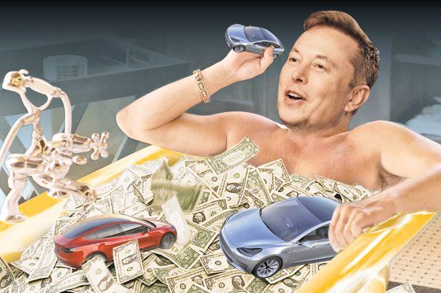 Элон Маск хөрөнгөөрөө Уоррен Баффетийг давлаа
