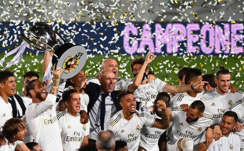 Реал Мадрид 34 дэх удаагаа Ла лигт түрүүллээ