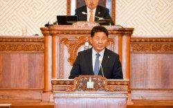 Засгийн газрын гишүүнийг томилох тухай Ерөнхий сайдын танилцуулгыг сонслоо
