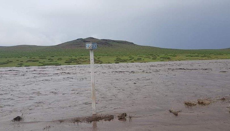 Төв аймгийн Лүн, Эрдэнэсантын зам усанд автлаа