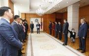 Шинээр байгуулагдах Засгийн газрын бүрэлдэхүүнийг Монгол Улсын Ерөнхийлөгчид танилцууллаа
