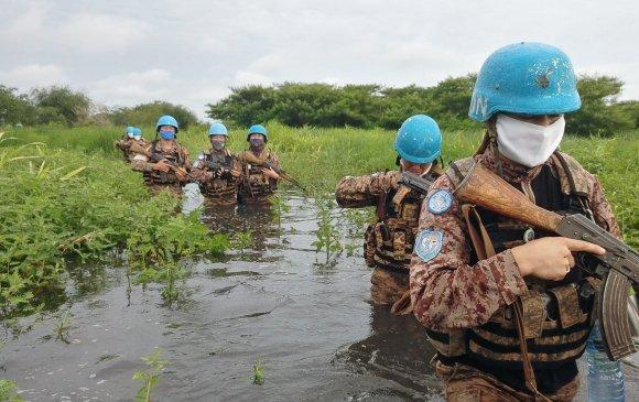 НҮБ өмнөд Судан дахь монгол цэргүүдийг сайшаав