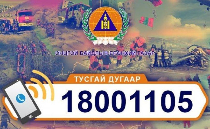 Тусгай дугаарын утсанд 64016 дуудлага хүлээн авчээ