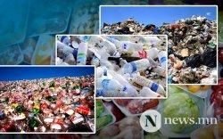 20 жилийн дараа дэлхийн хуванцар хог 1.3 тэрбум тонн болно
