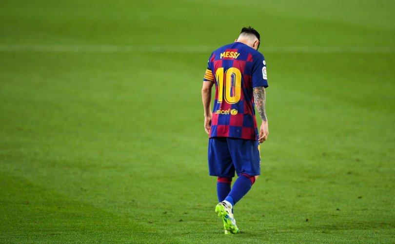 Лионель Месси 20 жилийн дараа Барселона багаас явах уу?